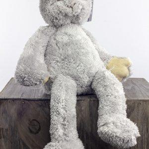 konijn grijs knuffel