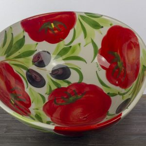 Saladetomaatschaal