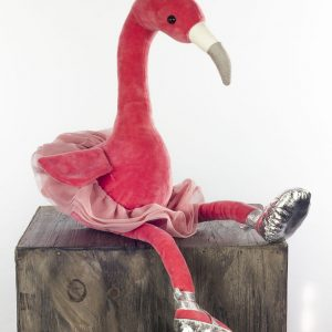 jellycat flamingo knuffel ballet