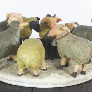 sfeerlicht schapen kerst