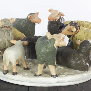 kerst sfeerlicht schapen