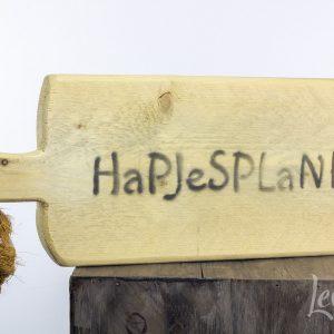 steigerhout hapjes plank
