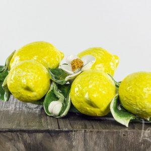 citroen decoratie aardewerk