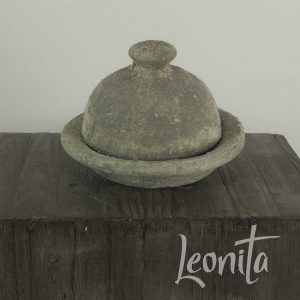 cementlook cloche decoratie