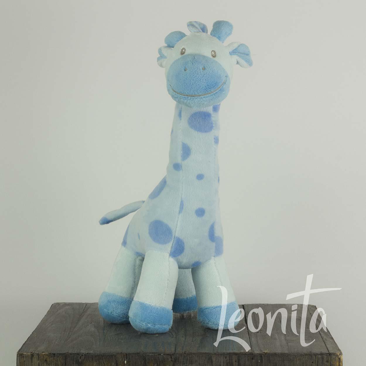 dbe2927e5088ee Knuffel Giraf Blauw - Leonita
