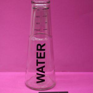 Water Fles Tafelen Glas