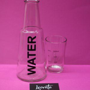 Glas Water Tafelen Sfeer