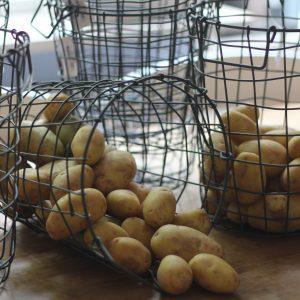 mandje metaal aardappel landelijk