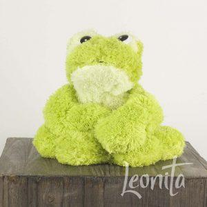 Kikker Froggie Groen Badstof