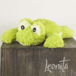 Froggie Kikker Badstof Groen
