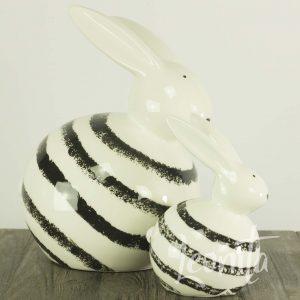 Bonnie Konijn Gestreept Pasen Voorjaar