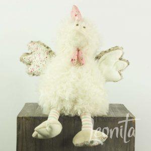 Knuffel Haan Pasen Zacht Cadeau Voorjaar