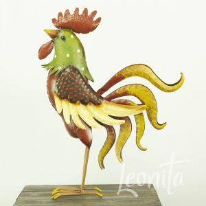 Haan Rody Decoratie Metaal Kippenhok