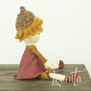 Abricott Chestnut Doll Jellycat Herfst Cadeau