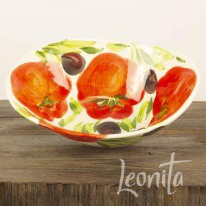Piccobella Tomaat Olijf Buiten eten Italiaans
