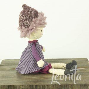 Blackberry Doll Verzamelen Jellycat Knuffel Popje Aubergine