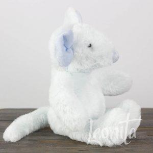 Muis Lichtblauw Knuffel Babyshower Geboorte