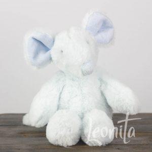 Muis Lichtblauw Geboorte Babyshower Cadeau