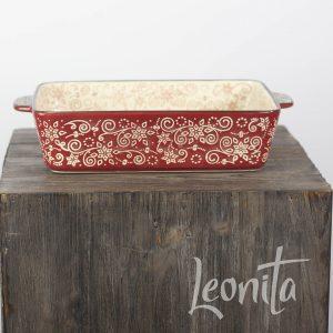 Lavandoux Landelijk Rood sfeer Ovenschaal