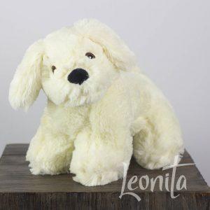 Hond Buddy Roomkleur Zacht Cadeau Geboorte