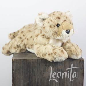 Leentje Luipaard Knuffel Cadeau Aaibaar