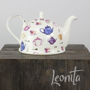 Jameson & Tailor Teatime Theepot Porselein Decoratief Verzamelen