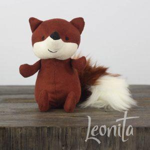 Jellycat Fox Vos Knuffel Londen Cadeau Verjaardag