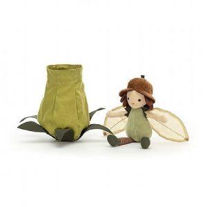 Petalkin Doll Acorn Jellycat Herfst Najaar Pop Knuffel Sprookje